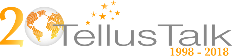 TellusTalk 20 year logo